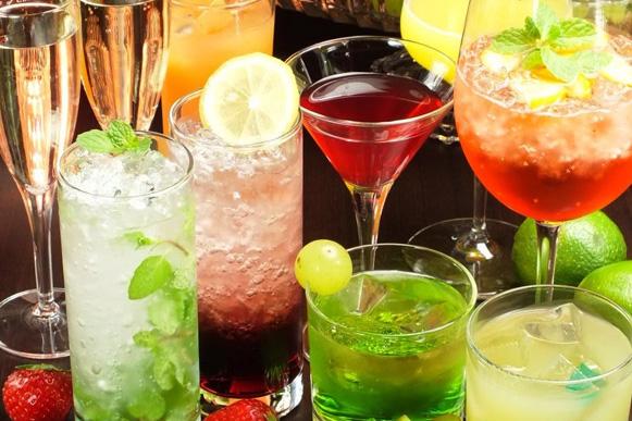 【貸切パーティーコース特典】最大300種類のプレミアム飲み放題メニュー