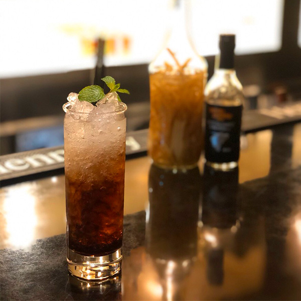 【Special Power Cocktail】<br>ジンジャービネガー 980円(税抜)